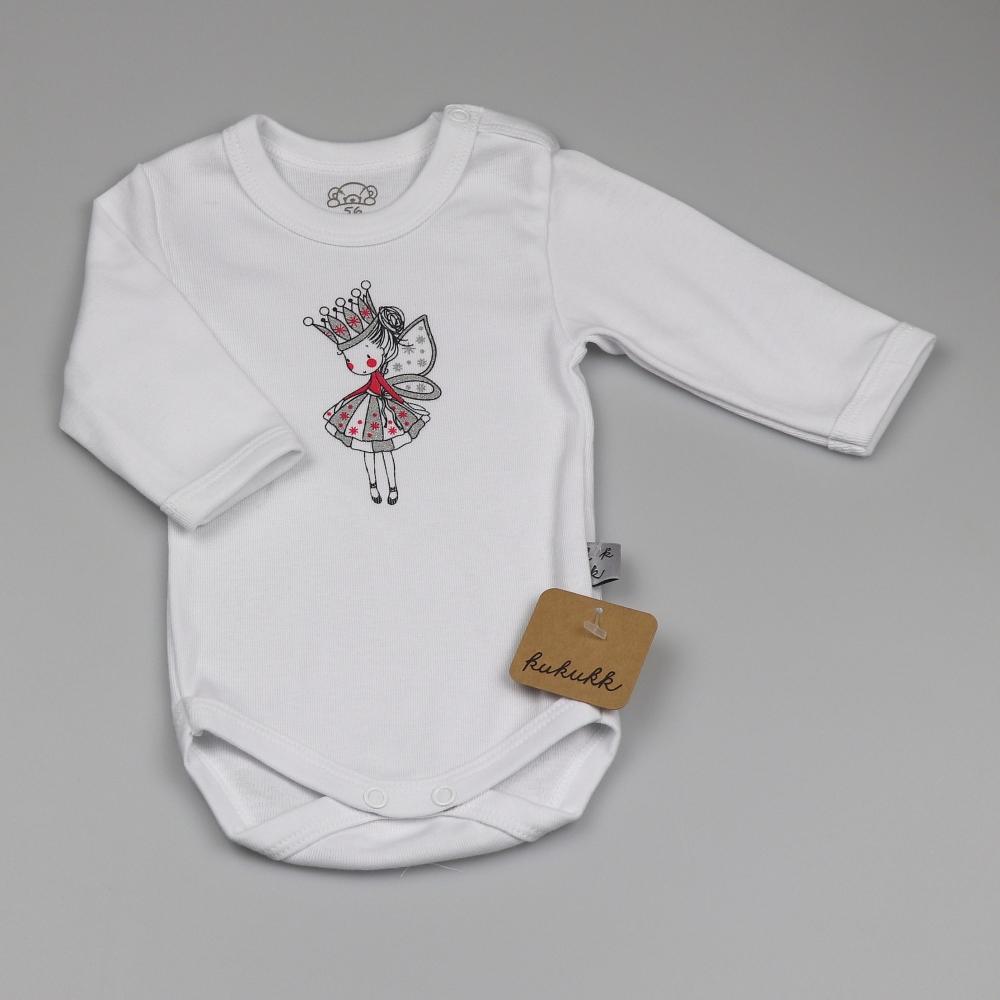 hercegnő fehér 56 pamut kombidressz HU Linden - Kukukk Baby Webshop c5b8f6d255