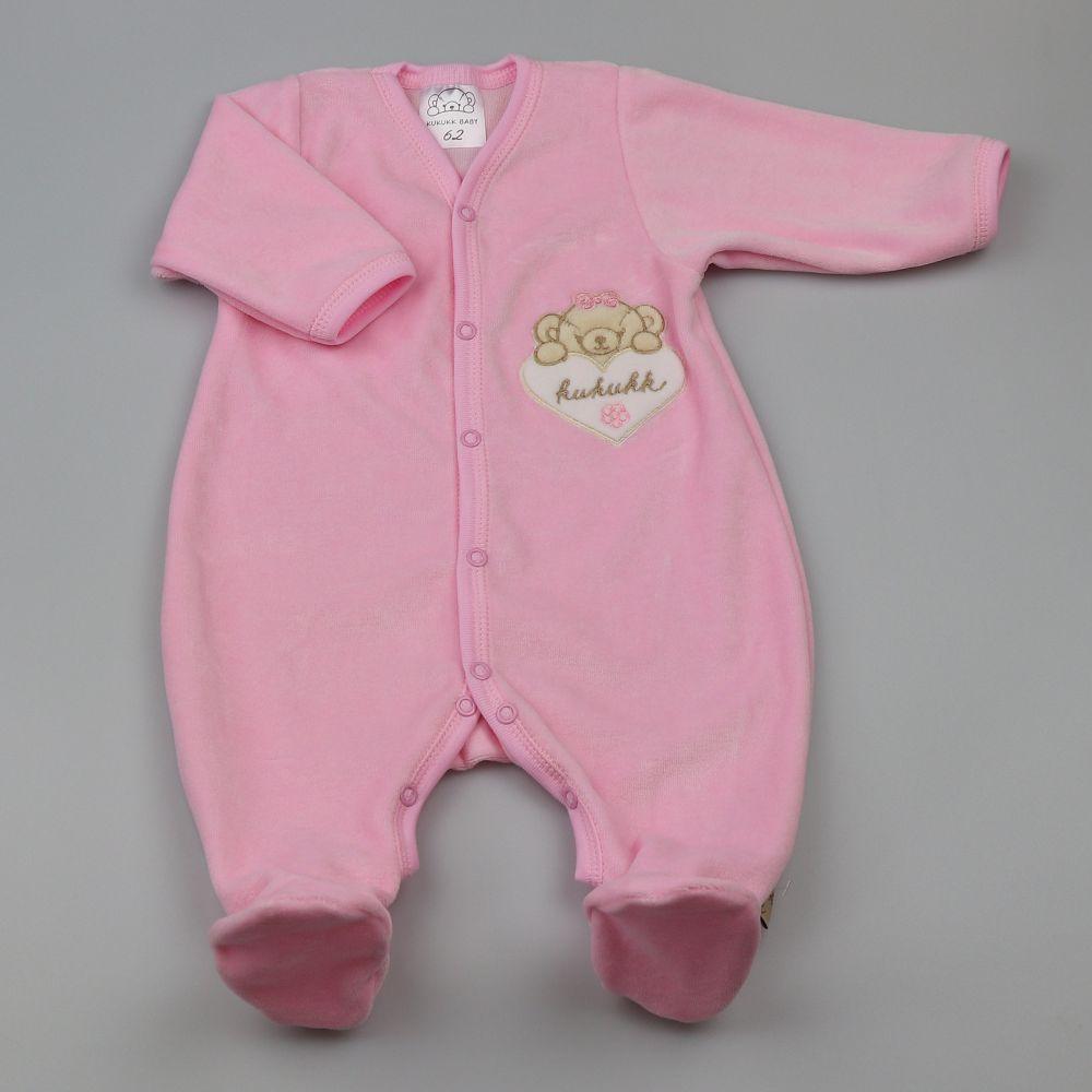 93da24a70a rózsaszín 68 plüss rugdalózó HU Hazel - Kukukk Baby Webshop