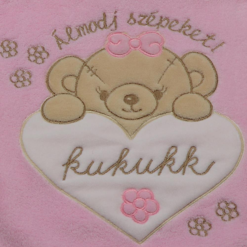 rózsaszín málna 35x35 WS ölelőpárna Pansy - Kukukk Baby Webshop 61d3acfde8