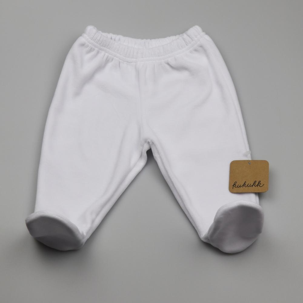 fehér 68 plüss talpas nadrág Fern - Kukukk Baby Webshop 9a6e9f1e98